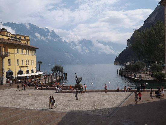Centrale Hotel -- Riva Del Garda: View from our room