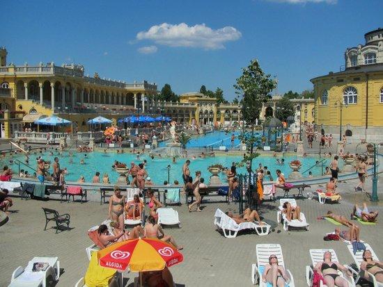 Széchenyi Baths and Pool: Széchenyi Baths