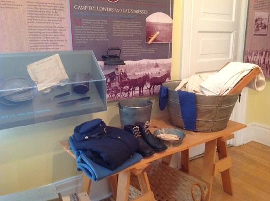 Fort Whipple Museum: Uniforms and supplies