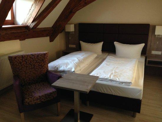 Hotel Sternen : Chambre sous les combles