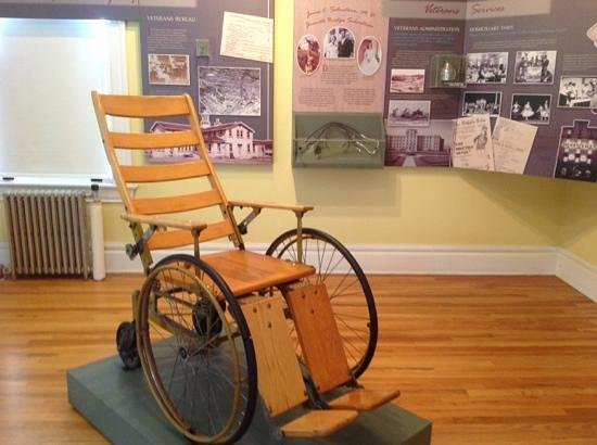 """Fort Whipple Museum: """"Ancient"""" wheelchair"""