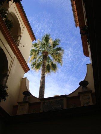 Casa Romana Hotel Boutique: Vue depuis la chambre de l'hôtel