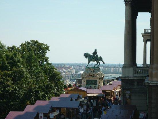 Château de Buda, Palais Royal : ярмарка