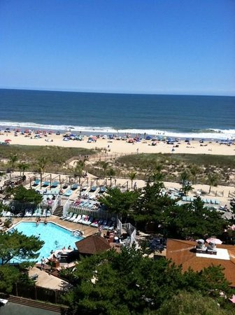 Holiday Inn Ocean City: View from Room 824