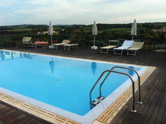 Piscina sul terrazzo - Picture of Grand Hotel Forli, Forli - TripAdvisor