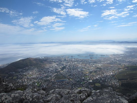 View from table mountain bild von tafelberg table for 52 table view