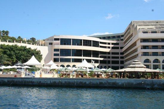 Excelsior Grand Hotel: Vista desde el mar
