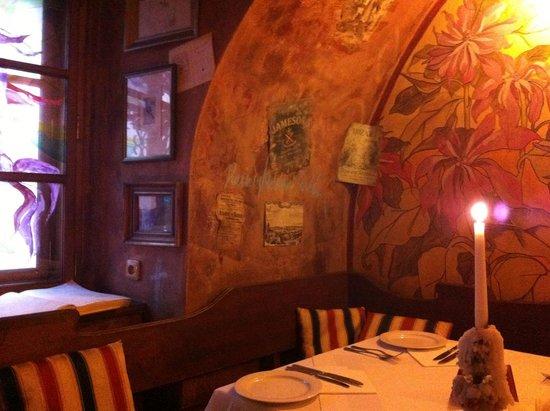 Rilke Restaurant : View of the table setting