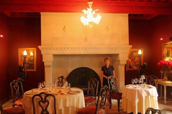 Villa Mazarin : Sala da pranzo