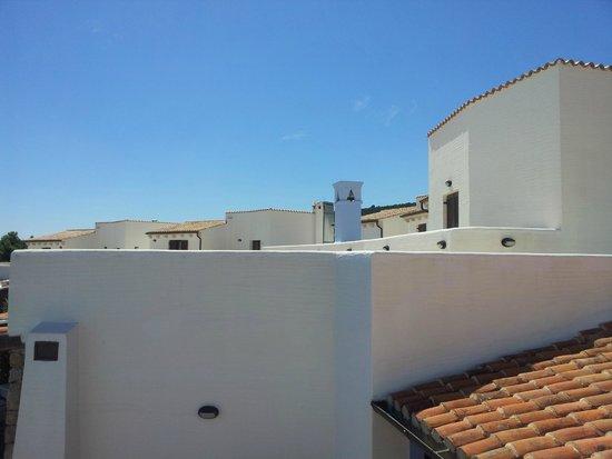 Hotel Nuraghe Arvu : Dal terrazzino verso destra