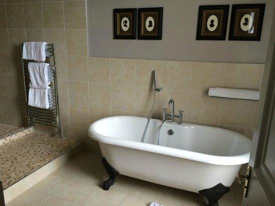 The Mount Somerset Hotel : Claw-foot bath-tub