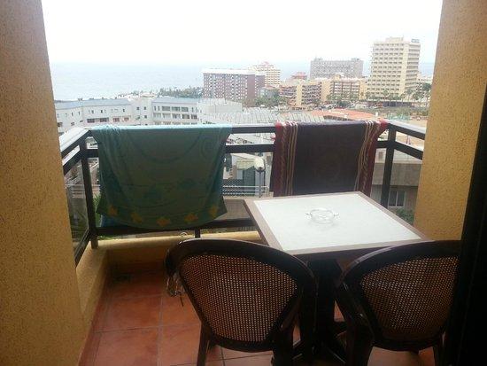 Hotel Diamante Suites: balcon