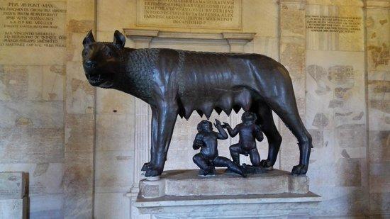 Musei Capitolini: La lupa
