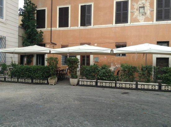Ristorante Roma Sparita: The outside of Roma Sparita Sept 2014
