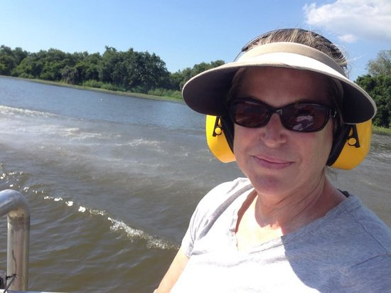 Airboat Adventures : Airboat ride!