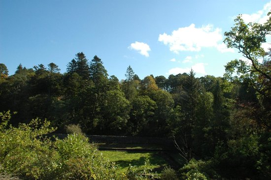 Torrisdale Castle: View from Garden Cottage