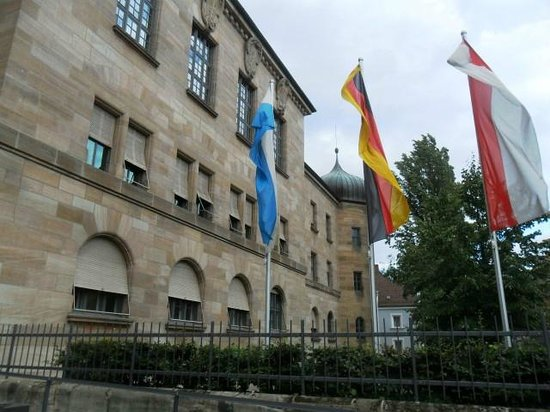 Nuremberg Palace of Justice (Justizpalast): palazzo di giustizia
