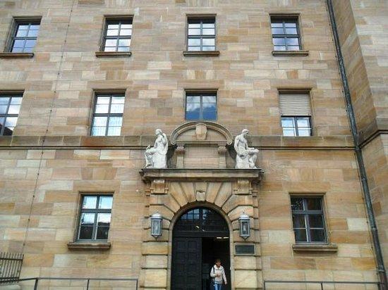 Palacio de Justicia de Núremberg (Justizpalast): ingresso della mostra