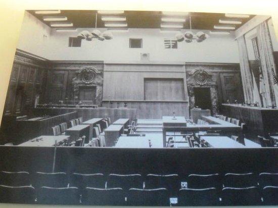 Sala 600 allepoca del processo photo de palais de for Sala 600 nuremberg
