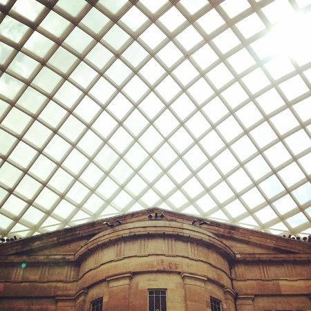National Portrait Gallery: Skylights of the Kogod Courtyard
