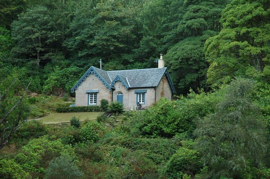 Torrisdale Castle: No neighbours here, the Garden Cottage