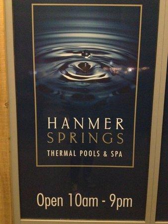 Hanmer Springs Thermal Pools & Spa: Thermal pools