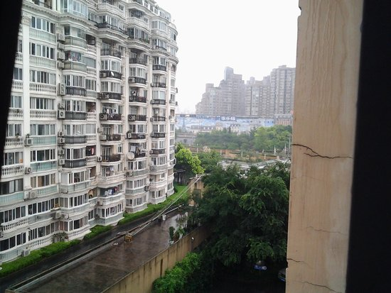 Holiday Inn Express Putuo Shanghai : vue de la chambre 520