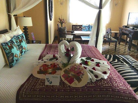 Nayara Hotel, Spa & Gardens: A warm welcome