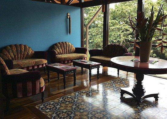 Nayara Hotel, Spa & Gardens: Reception area at Nayara Springs