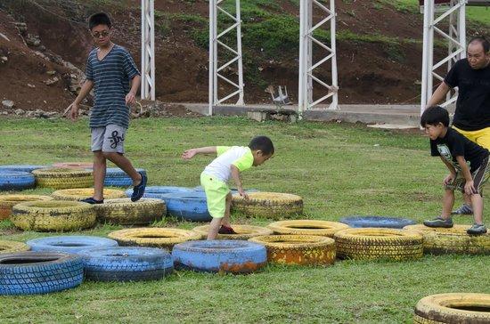 Obstacle Course Picture Of Caliraya Resort Club Lumban Tripadvisor