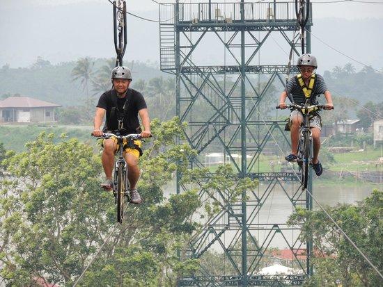 Sky Bike Picture Of Caliraya Resort Club Lumban Tripadvisor