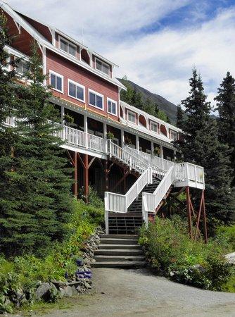 Kennicott Glacier Lodge: ingresso