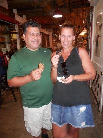 Philadelphia Chocolate Tours: First Stop - Cookies