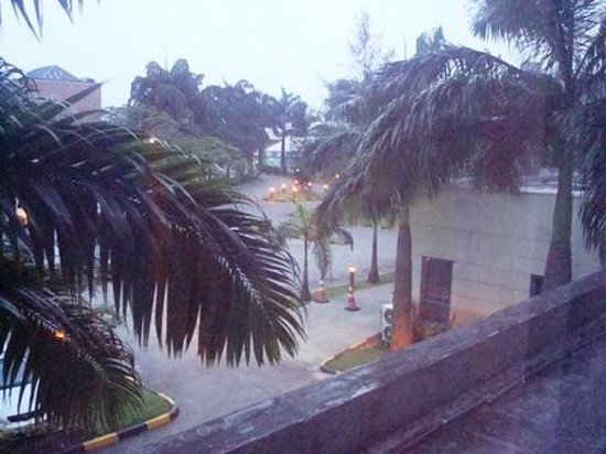 Novotel Port Harcourt : View from 1st floor room