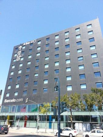 Barcelo Valencia: Fachada del hotel