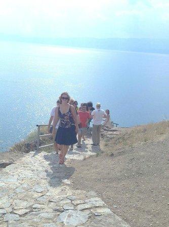 St. Jovan Kaneo : cliff