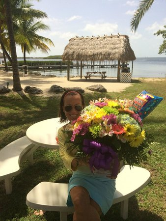 Atlantic Bay Resort: Thanks, Ted for the flowers and great vacation!