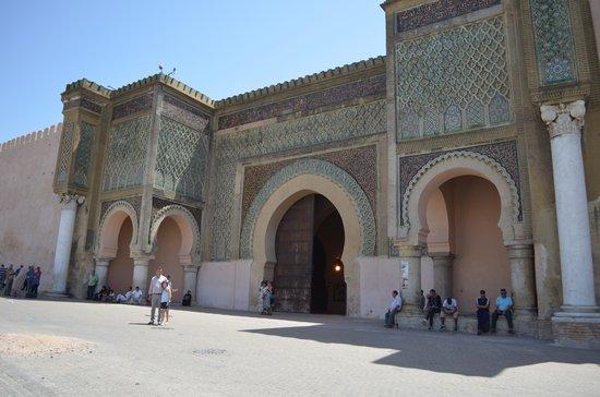 Bab Mansour Gate : La puerta