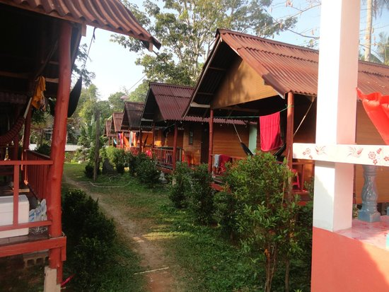 Lanta Nature Beach Resort: Bungalows