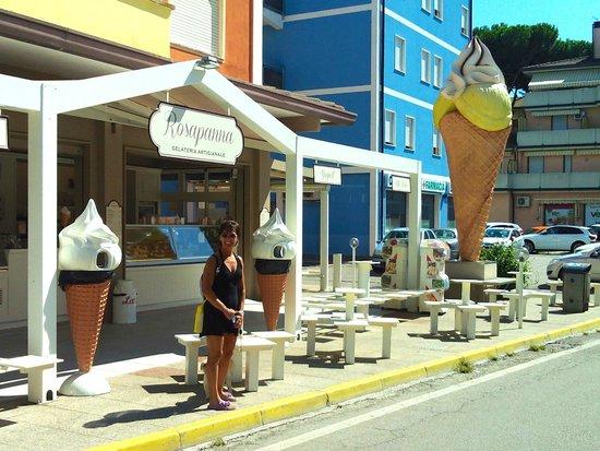 Ferienwohnung im zentrum von rosolina mare rovigo binnenland