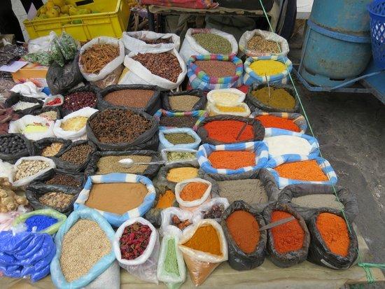 Otavalo Market: Spices