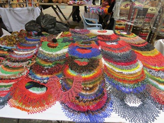 Otavalo Market: Beaded Necklaces