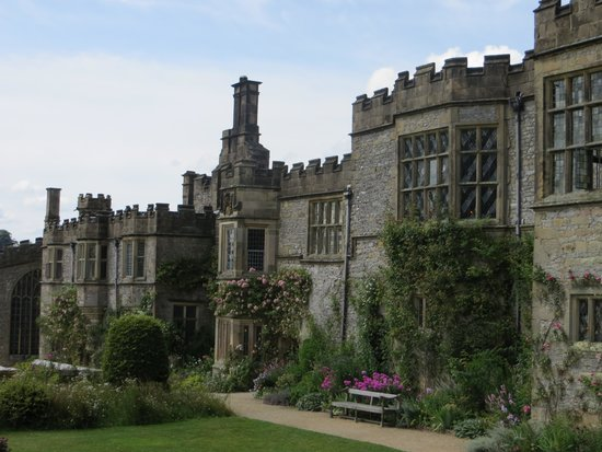 Haddon Hall: Side View