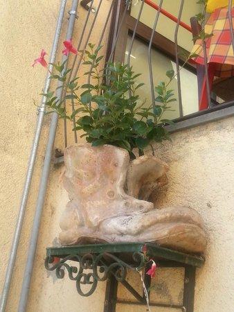 Trattoria Al Vecchio Scarpone: ingresso ristorante