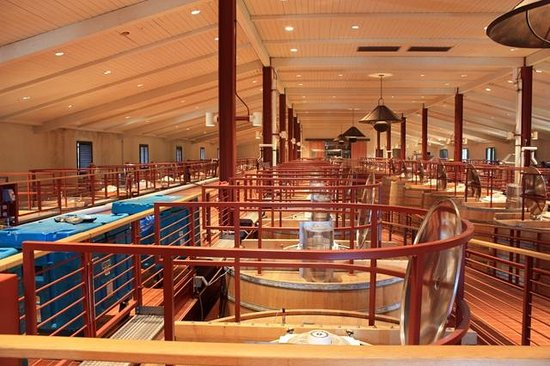 Robert Mondavi Winery: Fermentation