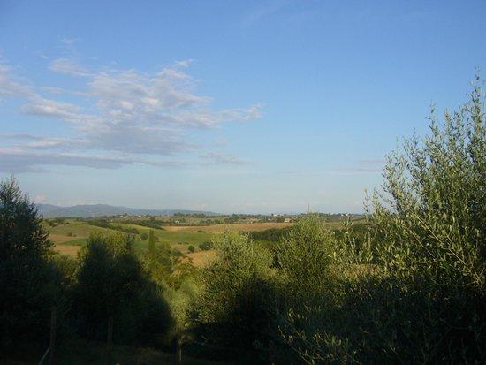 Le Oche Grigie: Vue de la terrasse commune