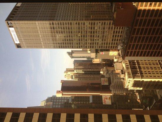 Novotel New York Times Square: Room 3225 view,