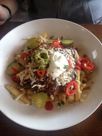The Donkey Shed Restaurant: Chilli chips
