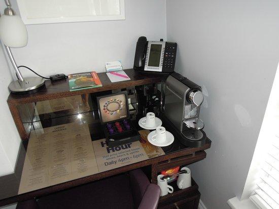 Hotel Indigo London-Paddington: Complimentary Nespresso!