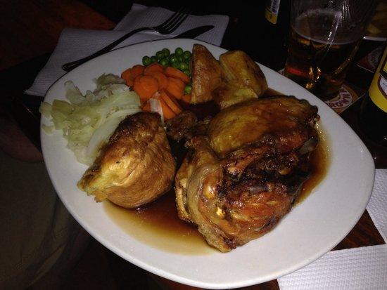 The George Pub : Sunday roast